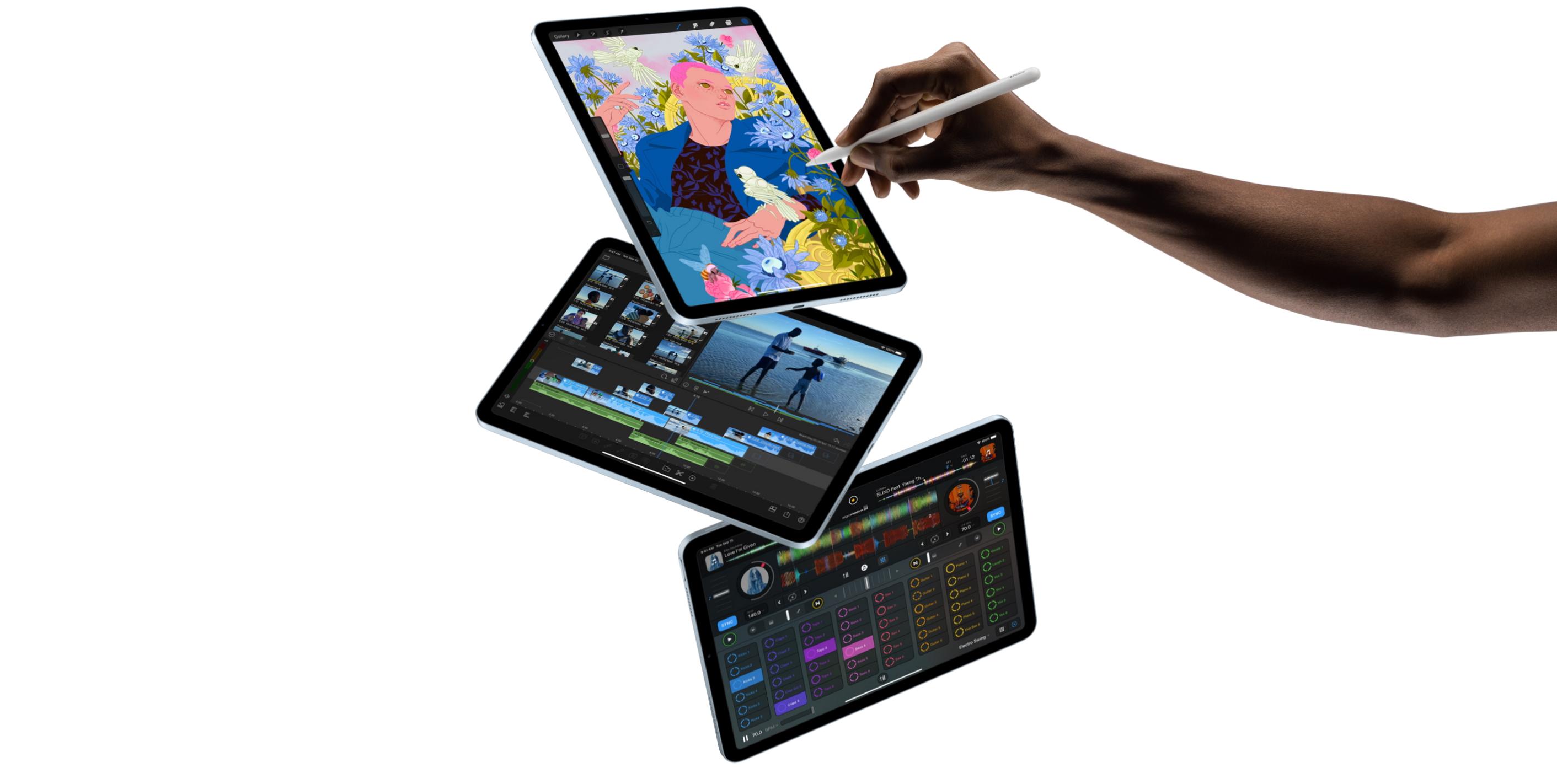 apple ipad air 4 2020 creative