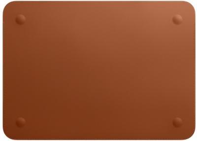 """APPLE Leather Sleeve 12"""" Saddle Brown"""