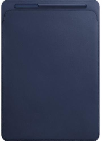 """APPLE Leather Sleeve 12,9"""" Midnight Blue"""