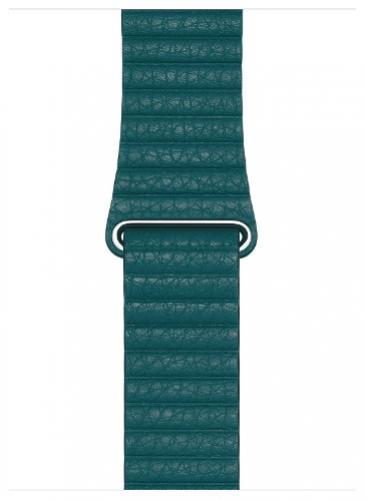 APPLE Remienok 44mm Peacock Leather Loop - Large