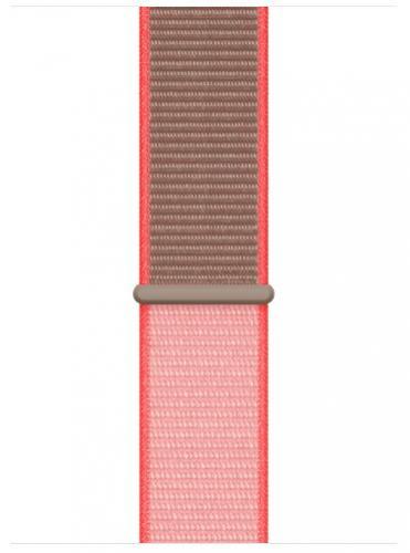 APPLE Remienok 40mm Neon Pink Sport Loop