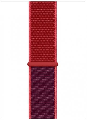 APPLE Remienok 44mm Red Sport Loop