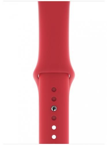 APPLE Remienok 44mm Red Sport Band - Regular