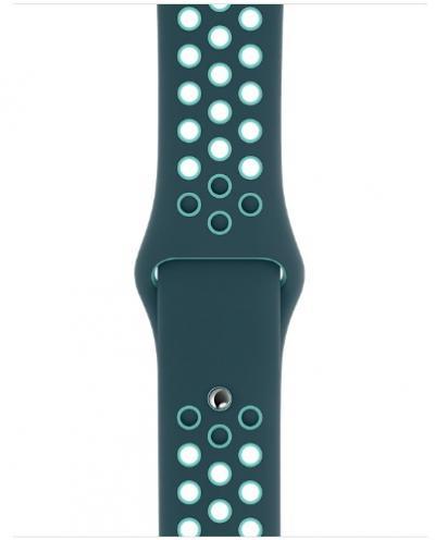 APPLE Remienok 44mm Midnight Turquoise/Aurora Green Nike Sport Band