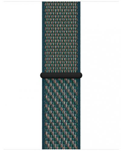 APPLE Remienok 40mm Hyper Crimson/Neptune Green Nike Sport Loop