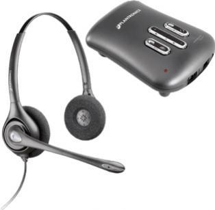 Plantronics Supraplus Digital headset + Vista Plus Digital Amplifier