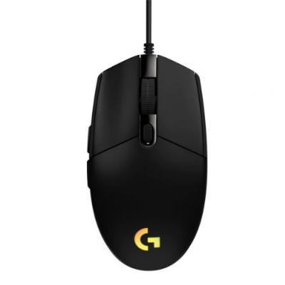 LOGITECH G102 Lightsync herná myš čierna