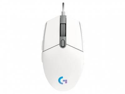LOGITECH G203 Lightsync herná myš biela