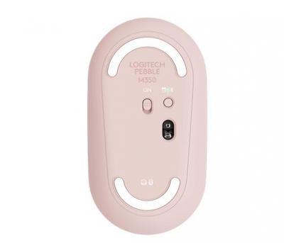 LOGITECH Pebble M350 bezdrôtová myš ružová