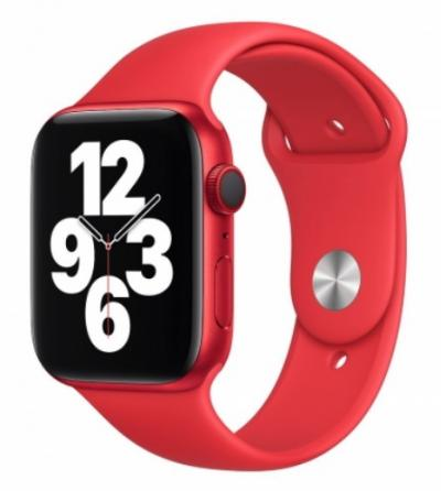 APPLE Remienok 44mm Red Sport Band