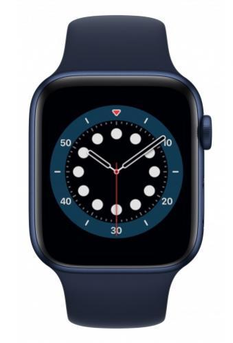 APPLE Watch 6 44mm Blue Aluminium with Deep Navy Sport Band