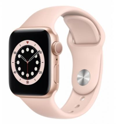APPLE Watch 6 40mm Gold Aluminium with Pink Sand Sport Band