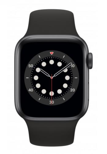 APPLE Watch 6 40mm Space Gray Aluminium with Black Sport Band