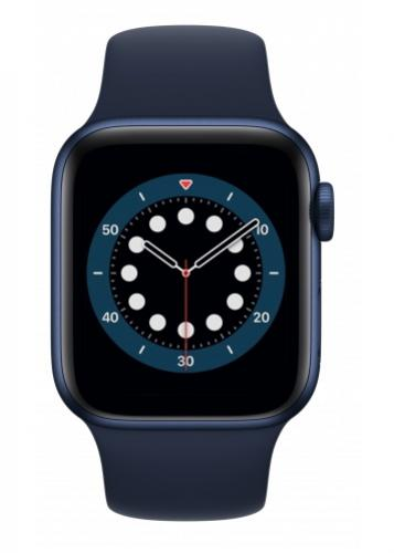 APPLE Watch 6 40mm Blue Aluminium with Deep Navy Sport Band