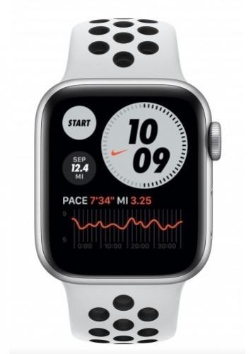 APPLE Watch Nike SE 40mm Silver Aluminium with Pure Platinum/Black Nike Sport Band