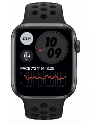 APPLE Watch Nike SE 40mm Space Gray Aluminium with Pure Anthracite/Black Nike Sport Band