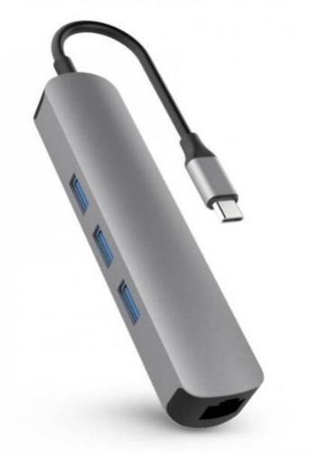 APPLE HyperDrive 6-in-1 USB-C Hub Space Gray