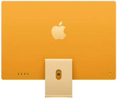 "APPLE iMac 24"" Yellow SK"