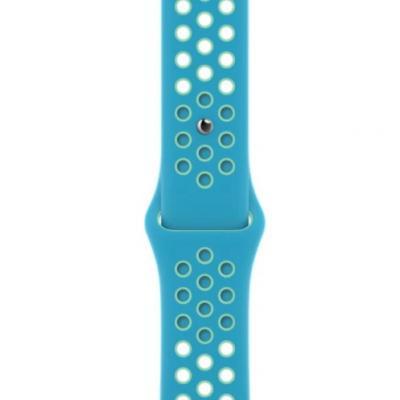 APPLE Remienok 40mm Chlorine Blue/Green Glow Nike Sport Band