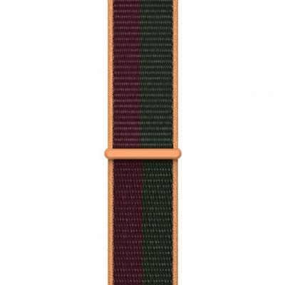 APPLE Remienok 45mm Dark Cherry/Forect Green Sport Loop - Regular