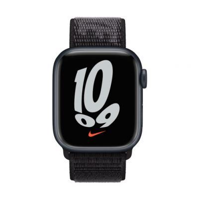 APPLE Remienok 45mm Black Nike Sport Loop - Regular