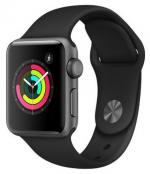 APPLE Watch 3 42mm Space Grey Aluminium with Black Sport Band