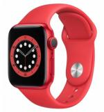 APPLE Watch 6 40mm Red Aluminium with Red Sport Band
