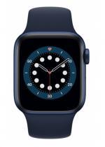 APPLE Watch 6 40mm Blue Aluminium with Deep Navy Sport Band