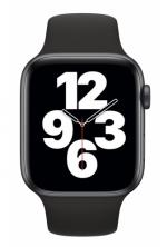 APPLE Watch SE 44mm Space Gray Aluminium with Black Sport Band