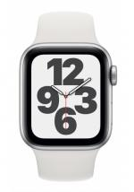 APPLE Watch SE 40mm Silver Aluminium with White Sport Band