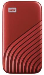Western Digital Externý disk My Passport 500GB USB 3.2 Typ C červený